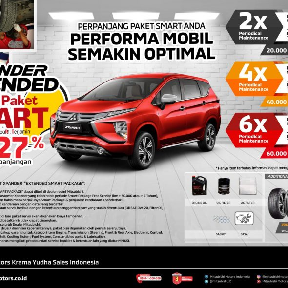 Pajero Sport Extended SMART Package
